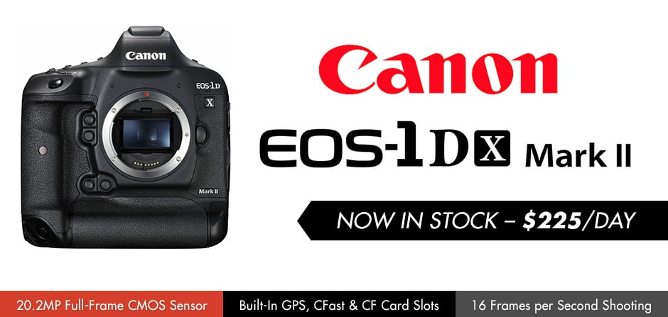 Now Available: Canon EOS-1D X Mark II! | DFLA